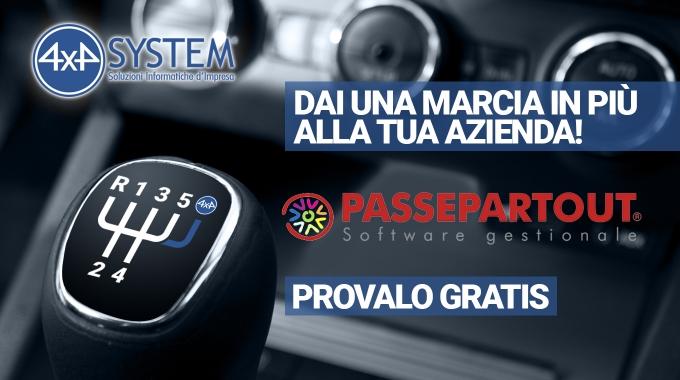 Una marcia in più alla tua azienda,con 4×4 System e Passepartout Mexal, puoi!