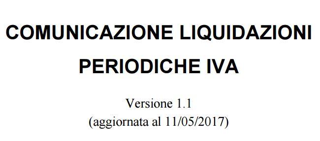 Comunicazione Liquidazioni Periodiche Iva