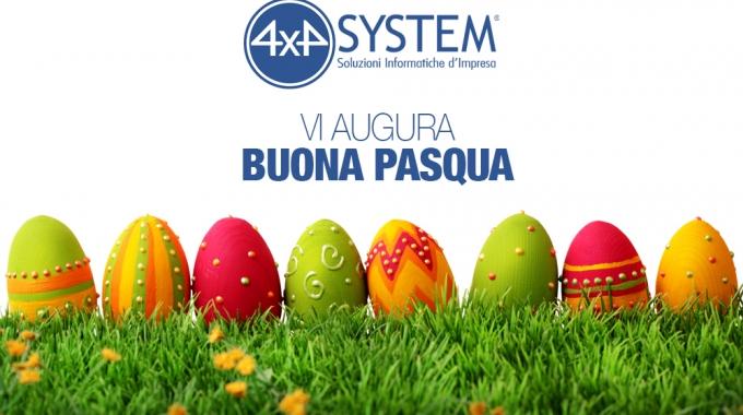 Buona Pasqua dalla 4×4 System – Mexal – Passcom – Software Gestionale per Aziende e Commercialisti.