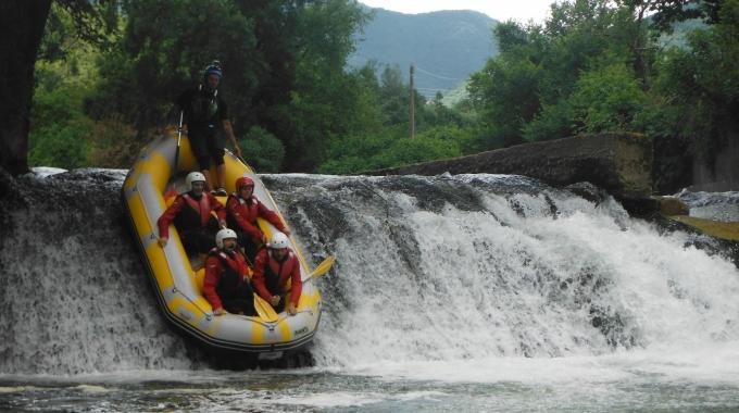 Team Building by Rafting a Pertosa, 1-8-9 giugno 2018, noi della 4×4 System