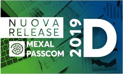 Nuove funzioni per la versione 2019D di Mexal e Passcom.