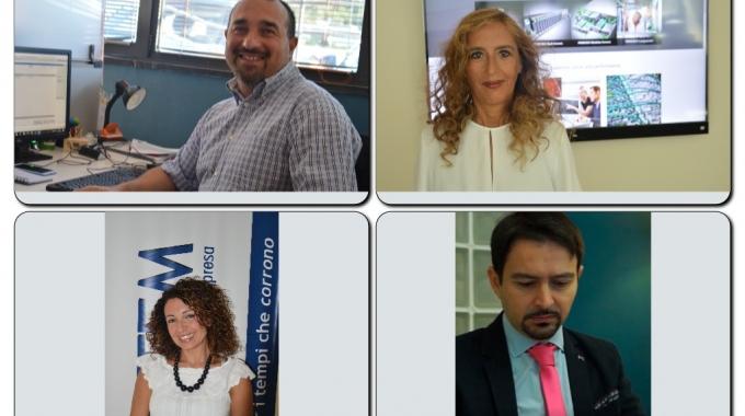 Il team dell'area gestionale per Mexal della 4×4 System