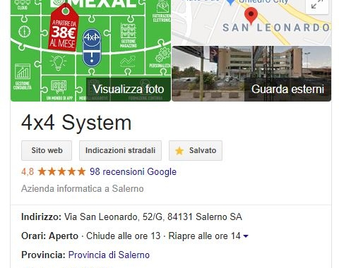 Il motore di ricerca Google e l'importanza delle recensioni online!