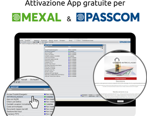 Il mondo delle App in Mexal e Passcom